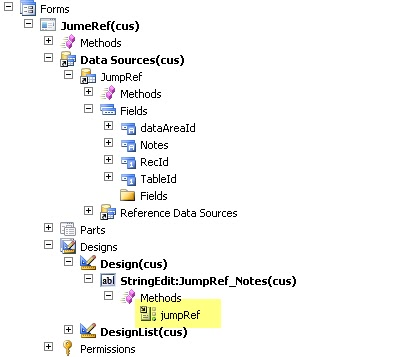 AX 2012: How to use JumpRef method - The AX Library