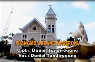 Lirik Lagu Puangmo Arrang Maseroku (Daniel Tandirogang)