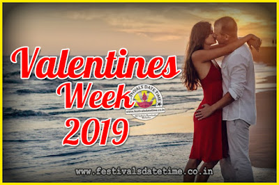 2019 Valentine Week List : 2019 Valentine Week Schedule, Hug Day, Kiss Day, Valentine's Day 2019