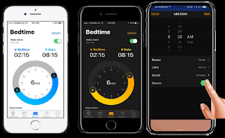 Alarm Settings On iPhone 8 iOS 11