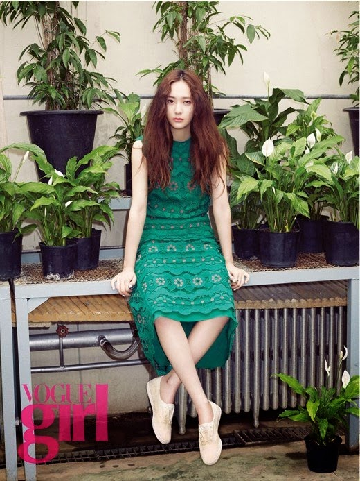 f(x) Krystal Vogue Pictorial Enjoy Korea hui vogue girl Jung Soo Jung
