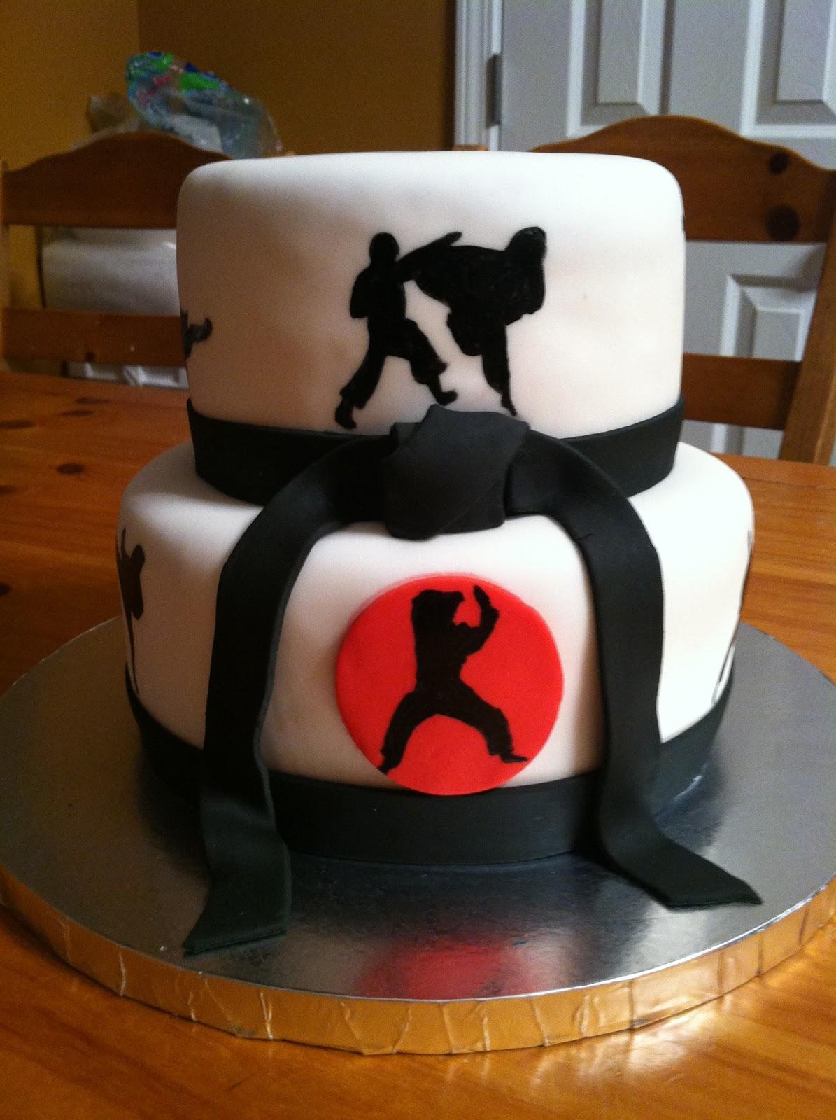 Introducing....: Karate Cakes