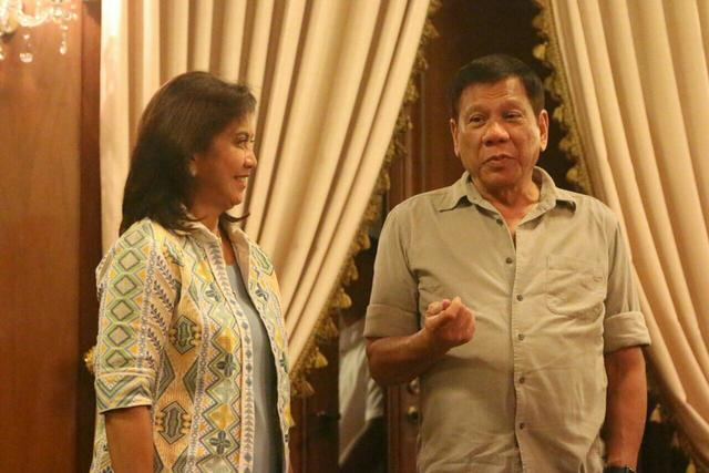 "Duterte and Robedo as ""Dubredo"""