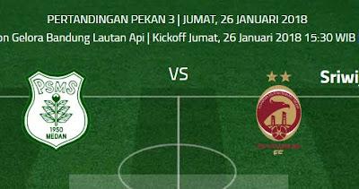 PSMS Medan vs Sriwijaya FC