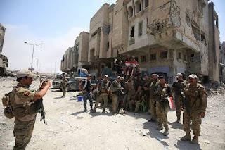 Irak Tendang Teroris ISIS dari Kota Mosul