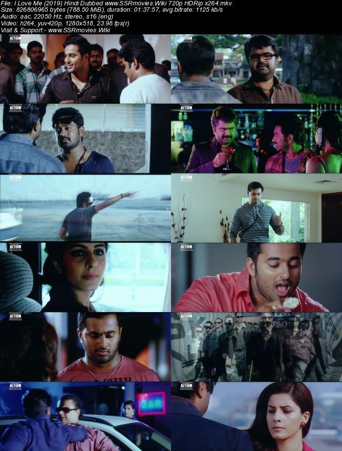 I Love Me (2019) Hindi Dubbed 720p HDRip x264 800MB