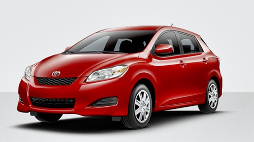 New Toyota Matrix 2015 Red Cherry Elegant Redesign