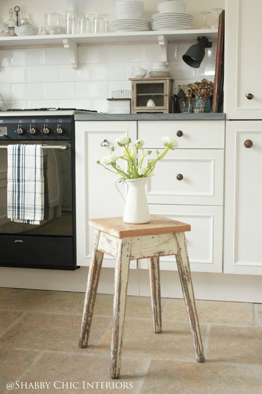 Restyling di una cucina ikea shabby chic interiors - Mobili cucine ikea ...