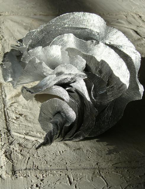 Paper Art Roma . Gasteropodi, sculture di carta modellata a mano , Alessandra Fabre Repetto