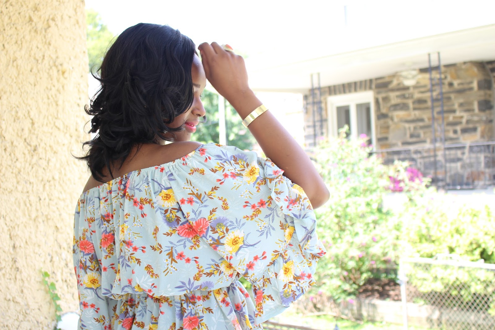 My Style Oasis, SheIn Off Shoulder Top