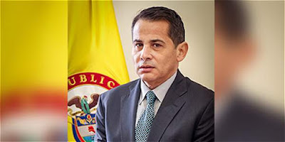 Colombia's former Interior vice-minister, Carlos Ferro, is at the centre of a gay sex scandal ...