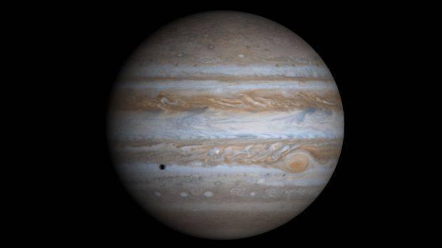Imagem de Júpiter feita pela sonda Cassini