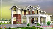 Villa Exterior In 267 Square Yards - Kerala Home Design