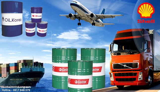 công ty bán dầu nhớt công nghiệp tại đồng nai