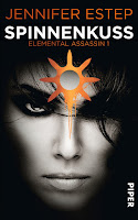 http://www.amazon.de/Spinnenkuss-Elemental-Assassin-Jennifer-Estep/dp/3492269400/ref=sr_1_1?ie=UTF8&qid=1447703886&sr=8-1&keywords=spinnenkuss