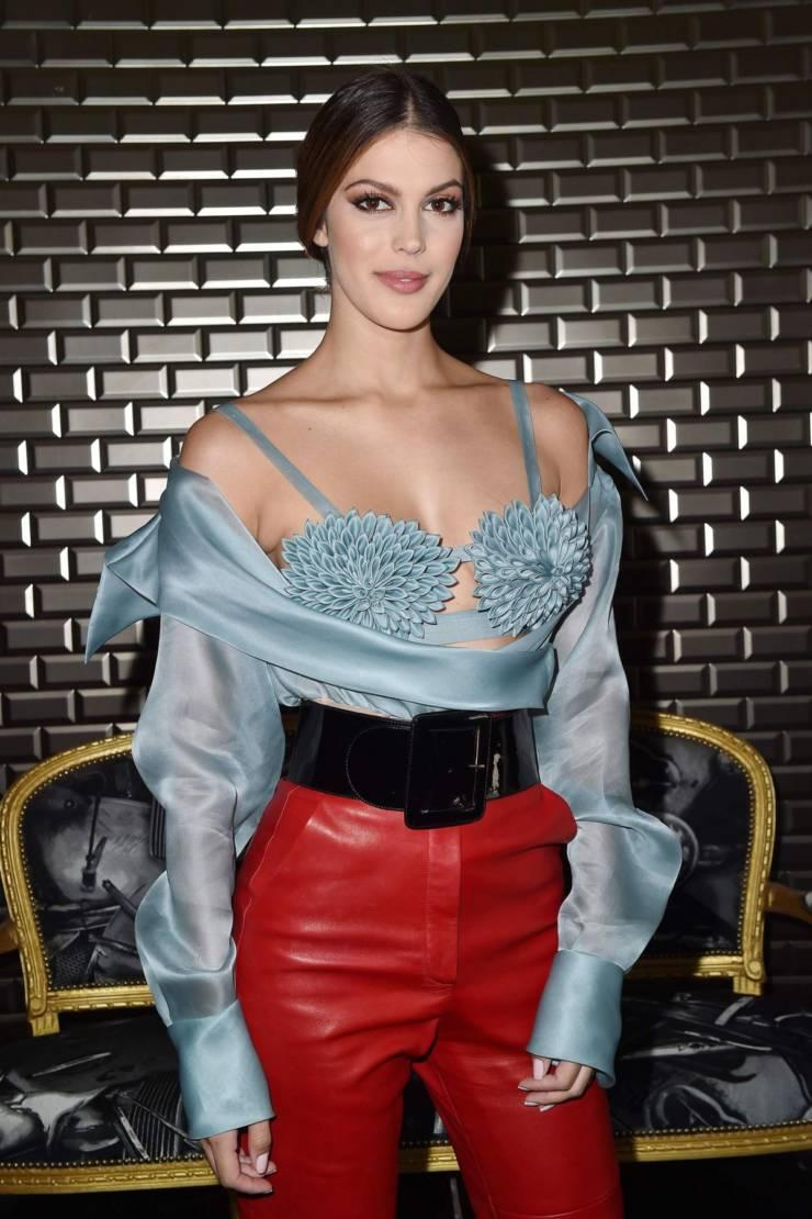 Iris Mittenaere at Jean Paul Gaultier Haute Couture FallWinter