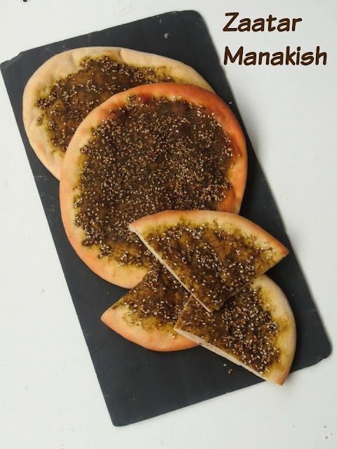 Manakish Zaatar