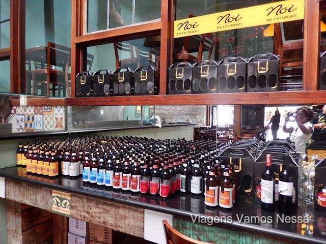 Noi Bar e Restaurante na área central de Búzios, comida boa e cervejas especiais premiadas