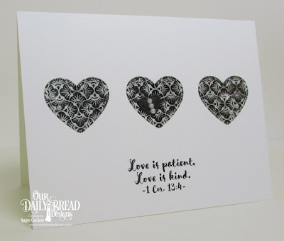 ODBD Birdhouse, ODBD Custom Mini Stitched Hearts Dies, ODBD Chalkboard Paper Collection, Card Designer Angie Crockett