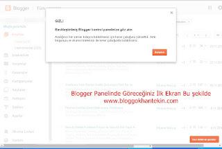 Google blogger panelinde güncelleme yaptı