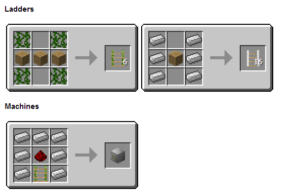 How To Craft Ladders In Minecraft Pe