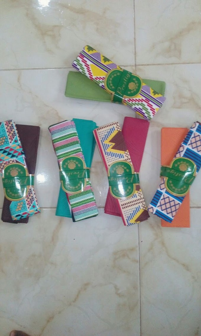 Get Your Ankara (Kente) And Pam Slippers At Affordable Price [Sponsored Post]