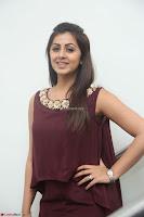 Nikki Galrani in a Brown Shining Sleeveless Gown at Nakshatram music launch ~  Exclusive 001.JPG