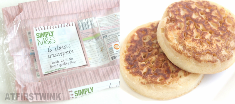 Marks and Spencer classic crumpets