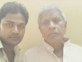 Mukesh Mandal Nirala With Father