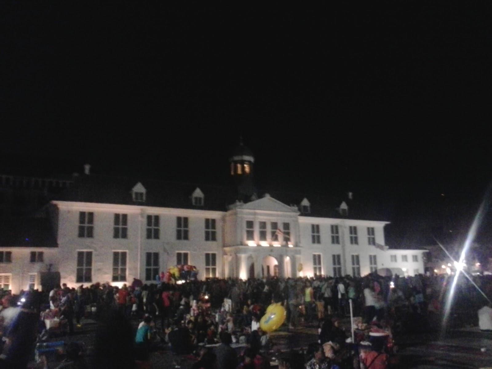 Pesona Kota Tua Jakarta Di Malam Hari ~ Andri Blog