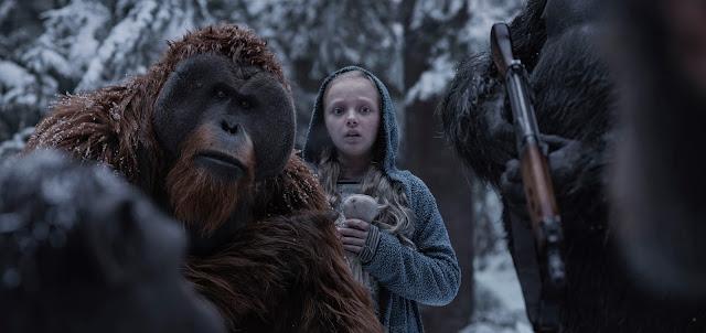 Frases de la película La guerra del planeta de los simios