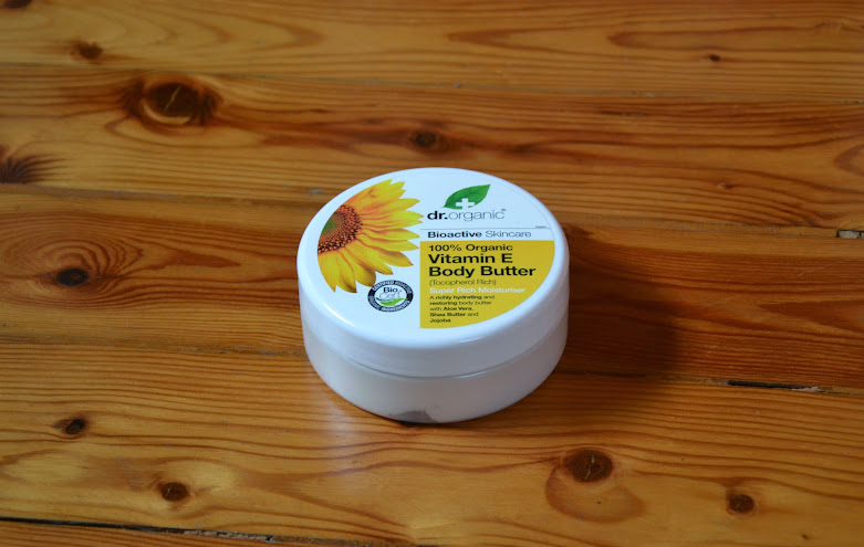 Review: Dr. Organic Vitamin E Body Butter