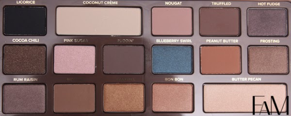 Too Faced Semi Sweet Chocolate Bar Palette Review and Swatches