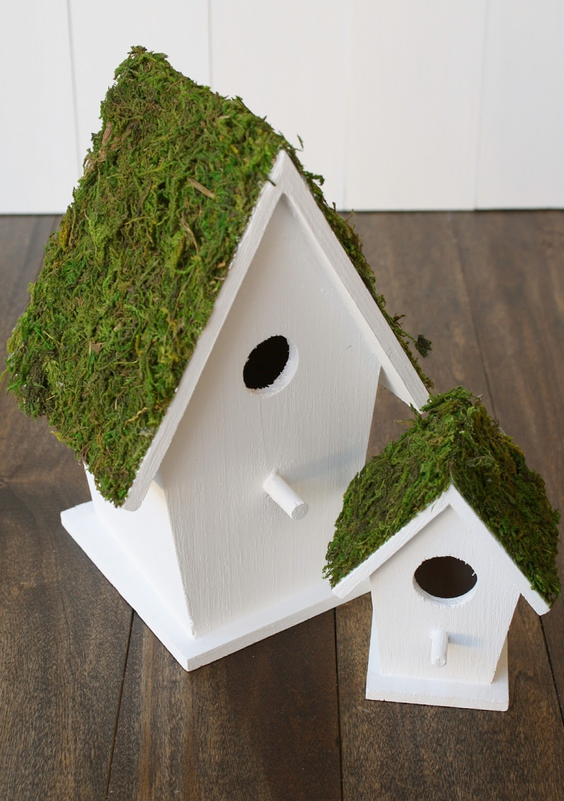 Moss birdhouses for Types of birdhouses
