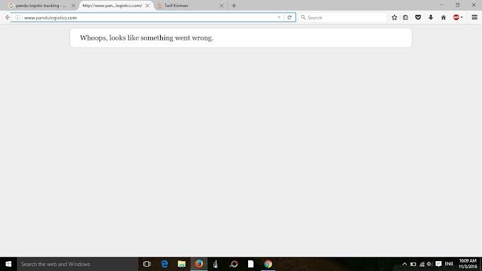 Pandulogistic.com down - Ini Akibat website tidak dibacking dengan webmaster