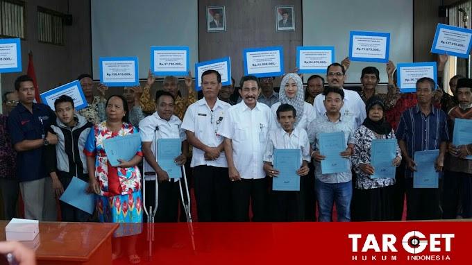 Bupati Haryanto ; Bantuan Rp 774 Juta Bagi Penyandang Difabel Agar Lebih Mandiri Dalam Berwirausaha