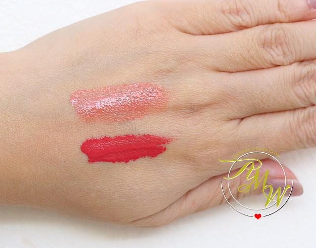 a swatch photo of Etude House Twin Lipx x Tint Twin Shot Review (Mug x Chai Shot) BR401
