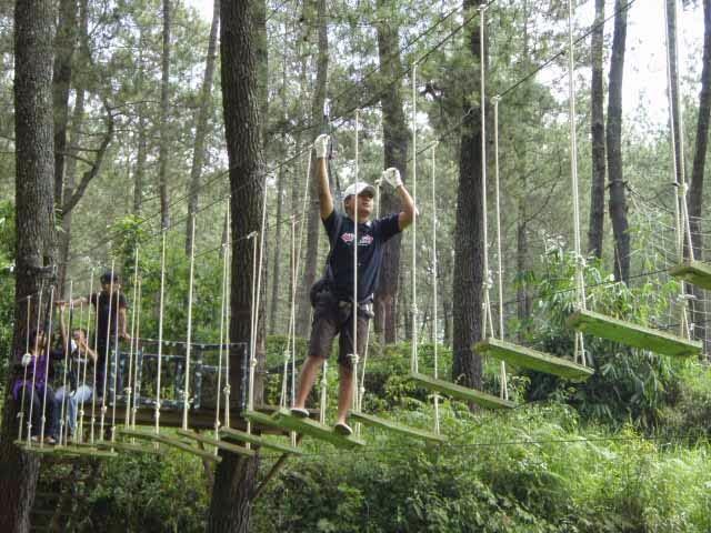 Paket Wisata Bandung Camping dan Outbound 2015 - Lembang