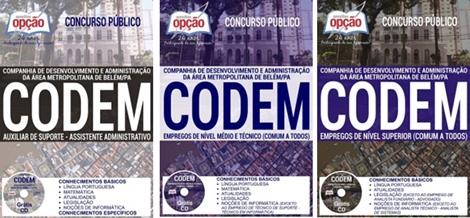 Apostila Concurso CODEM 2017