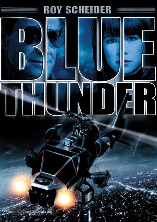 Blue Thunder (1983) Dual Audio Hindi 350MB BluRay 480p ESubs