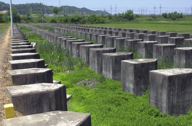 «Όδοντες δράκου» 15 μίλια νοτιότερα από την DMZ