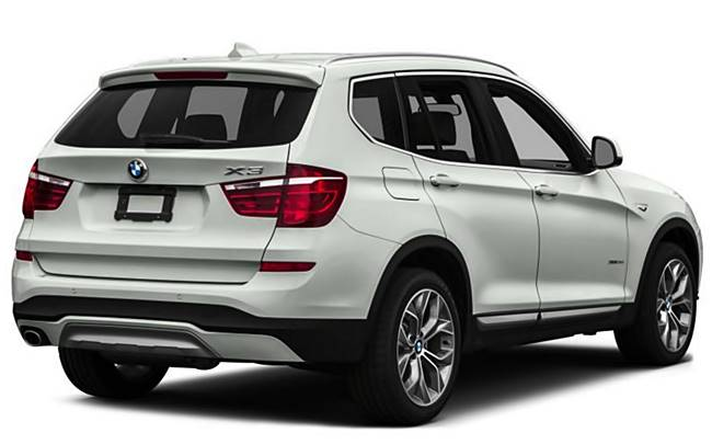 2017 BMW  X3 sDrive28i Review