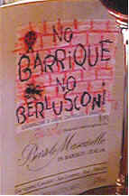 "NO BARRIQUE ""NO ROBERT PARKER"""