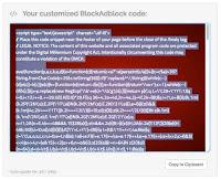 script blockadblock siap diambil
