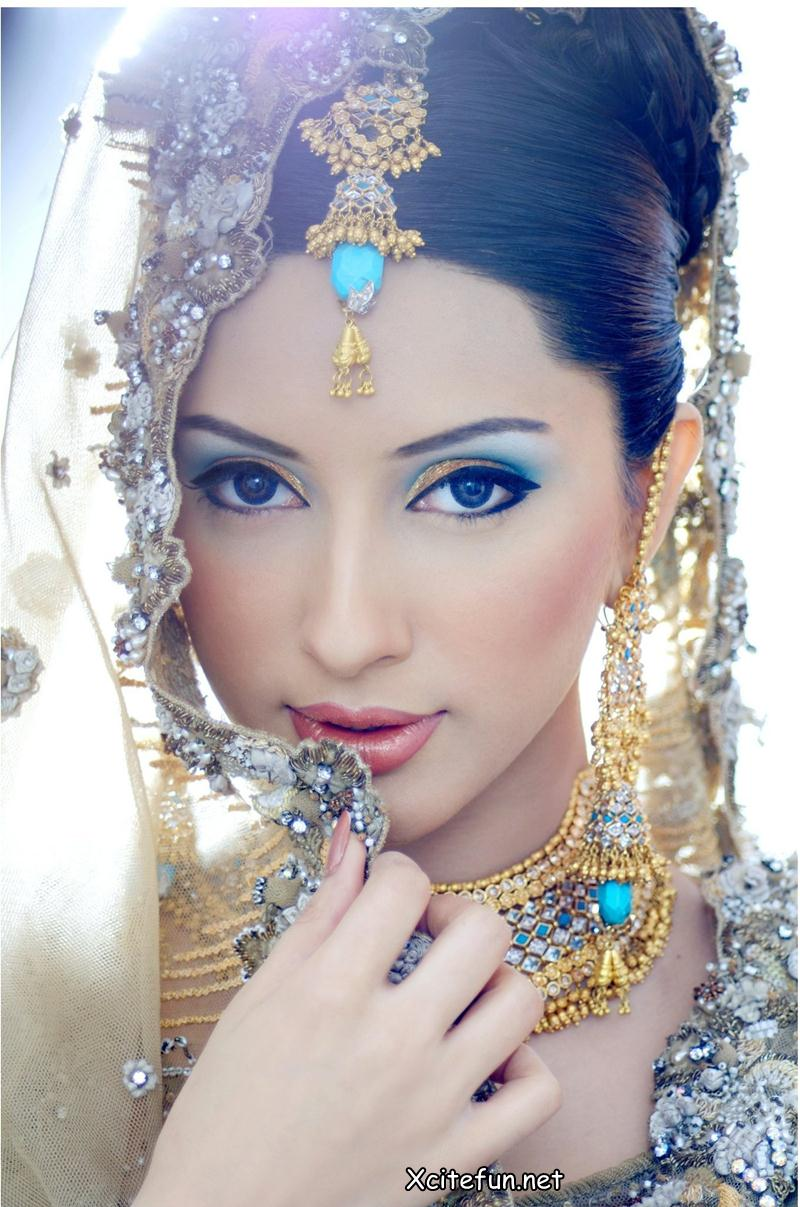 Pretty Makeup With The Eye Glitters 2052994: Picpile: Best Indian Bridal Wedding