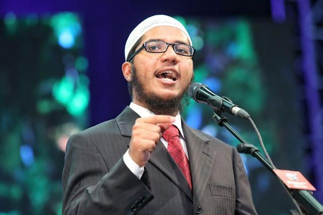 Putra Zakir Naik Buka Ceramah di Bekasi