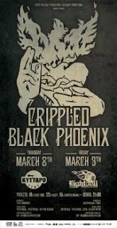 Crippled Black Phoenix, Sleepstream, Tuber @ Thessaloniki, 09/03/2012