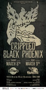 [Live Report] Crippled Black Phoenix, Sleepstream, Tuber @ Thessaloniki, 09/03/2012