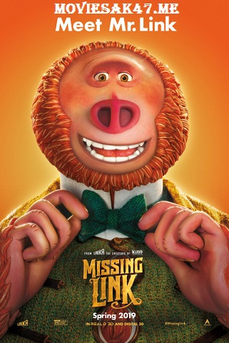 Missing Link (2019) Full English Movie Download 480p 720p HD-CAM