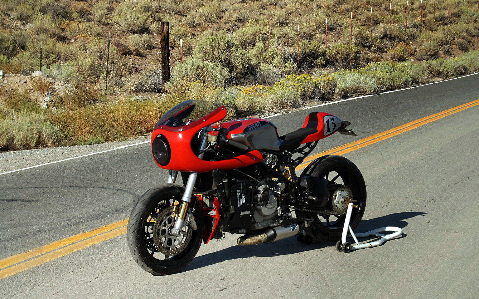 Ducati 749 Cafe Racer Rocketgarage Cafe Racer Magazine